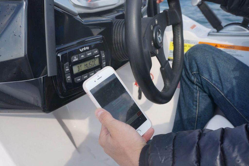 スカラブジェットボート 音響システム